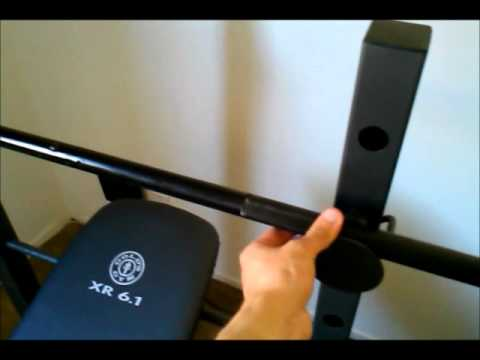 Golds Gym XR 6.1 Weight Bench Review