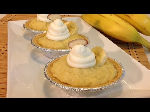 How To Make A Banana Cream Pie-No Bake Desserts Recipes