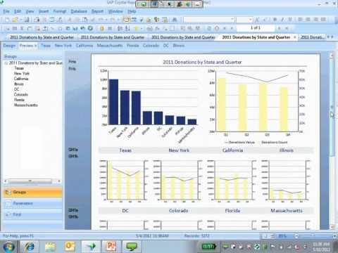 Webinar - Creating Effective Reports with Crystal Reports 2011 - 2012-05-10