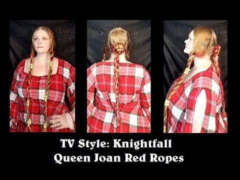 TV Style: Knightfall - Queen Joan Red Ropes