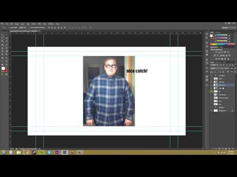 Photoshop CS6 Tutorial - 61 - Copying and Deleting Layers