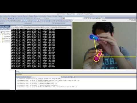 measuring angles opencv c++