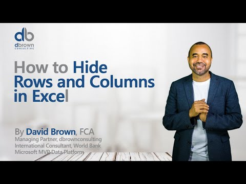 Excel tutorial: Shortcut to Hide Rows and Columns in Excel