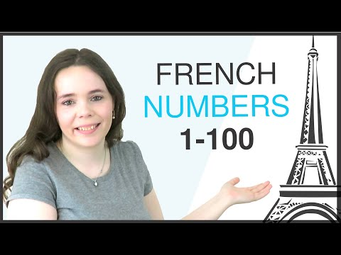 LEARN FRENCH NUMBERS 1-100 | COUNTING IN FRENCH 1-100