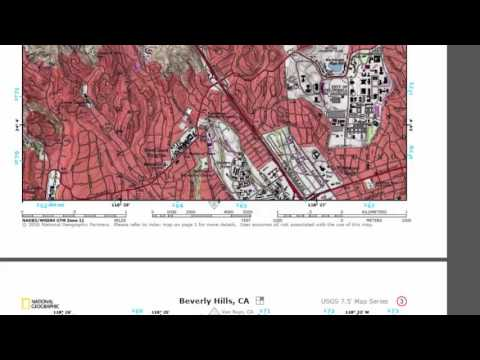 How to Download free U S  Topological Maps