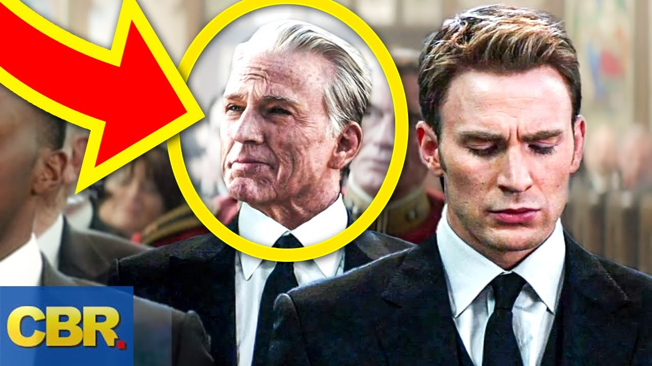 Old Captain America Watched the Avengers This ENTIRE Time
