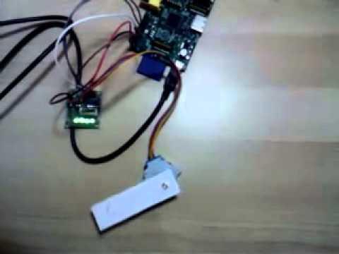 Control stepper motor through the GPIO on Raspberry Pi