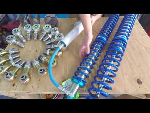 King Coil Overs and 4 Link Suspension - Reckless Wrench Garage