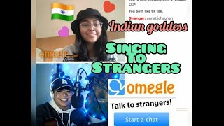 Singing To Strangers on Omegle | Indian Goddess ❣️ | Jealous by Labrinth/Random Songs|Joneil Flores