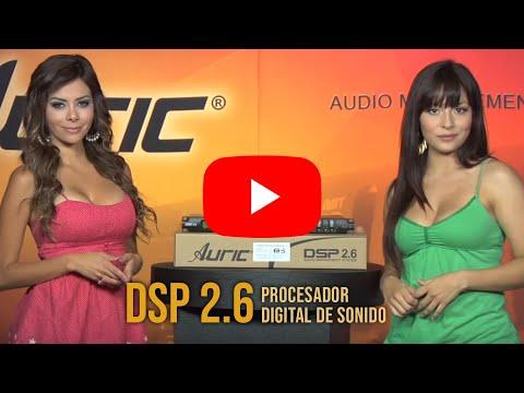 D.S.P. AURIC DSP 2.6 - Procesador digital de Sonido.