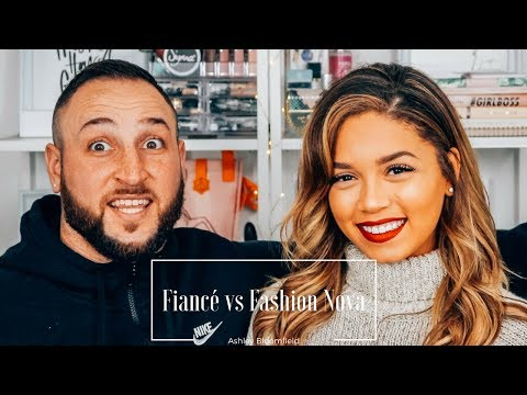 Fiancé Picks My Outfits | Fashion Nova | Ashley Bloomfield