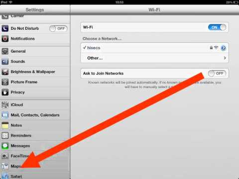 How to set iPad Navigation Voice Volume to
