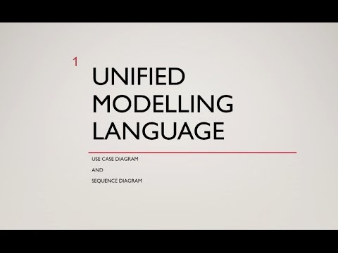 Unified Modelling language- Sequence Diagram and Use Case Diagram
