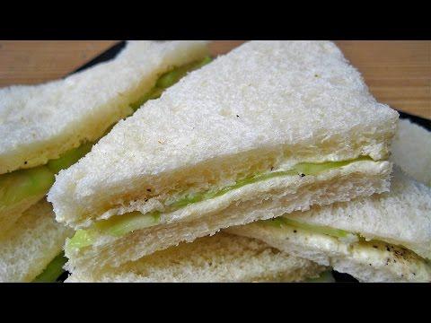 Cucumber Sandwich Recipe in Hindi - कुकुम्बर सैंडविच रेसिपी @ jaipurthepinkcity.com