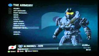 How To Mod (Halo Reach) Inheritor, Red & Blue Flames (2017) - PakVim