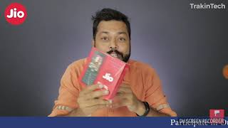 Jio phone unboxing and review