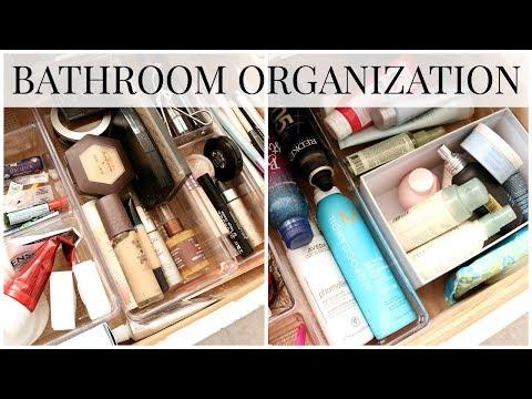 Bathroom Organization + Cleanout | Kendra Atkins