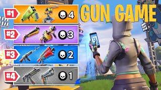 How To Make GUN GAME In Fortnite Creative!