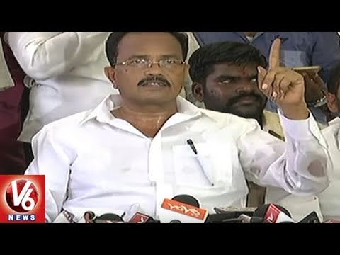 Chandrababu Afraid Of CM KCR And Fled To Andhra Pradesh, Alleges TDP Leader Mothkupally | V6 News