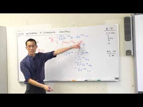 Integration of Harder Exponential Functions
