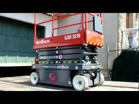 skyjack 3219 scissor lift - rp rentals