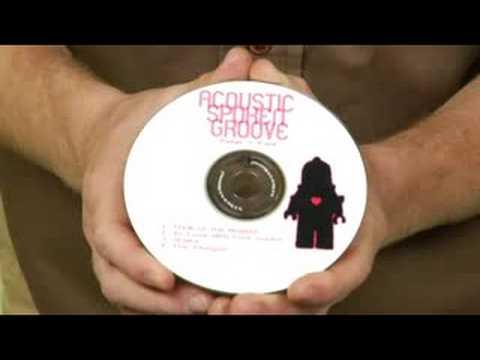 Making a Music Press Kit : Music Press Kit CD Art