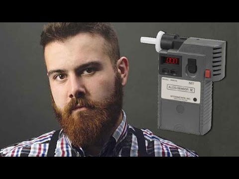 Beards can make you fail a Breathalyzer! BEWARE Hipsters & Lumbersexuals