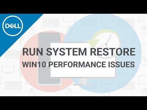 Fix Windows 10 Performance  (Official Dell Tech Support)