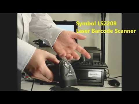 Symbol LS2208 Laser Barcode Scanner/Reader Review, Best 1D Laser Handheld Barcode Scanner