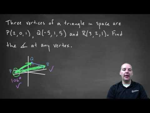 Finding Angles Within a Triangle Using Calculus