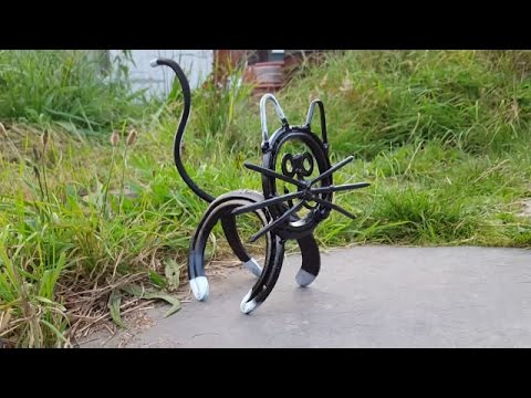 How to make a Metal Cat - Easy welding project