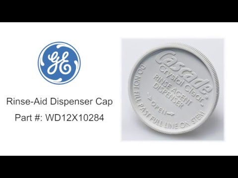 General Electric Rinse-aid Dispenser Cap Part #: WD12X10284