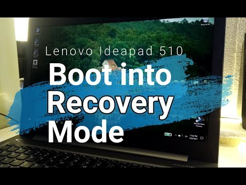 Lenovo ideapad 510| Boot BIOS | Novo button| Core i5 7th gen| 4gb Graphics