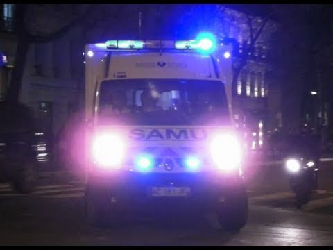 Emergency Ambulance Responding in Paris