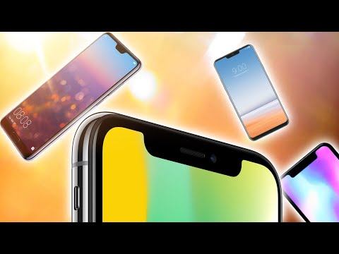 Is the iPhone X Notch Ruining Android?