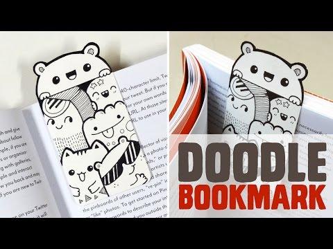 DIY ~ Mini Doodle Bookmark