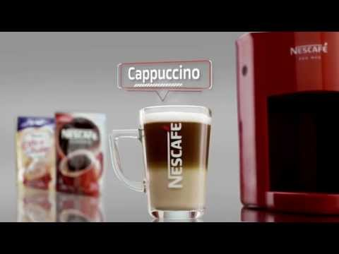 Creating A Foamy Cappuccino with NESCAFÉ RED MUG Machine