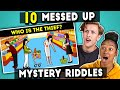 Teens Try To Solve 10 Messed Up Mystery Riddles The 10s