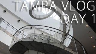 TAMPA SPRING BREAK TRIP - DAY 1 - VLOG