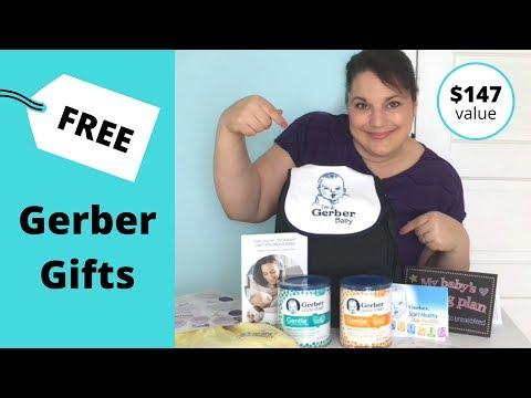 Gerber Gifts:  Free Formula + Gerber Samples $147 value!
