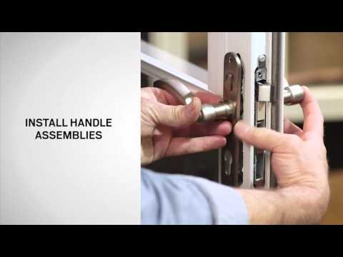 Handle Replacement on Andersen® Full-Lite Self-Storing Storm Doors