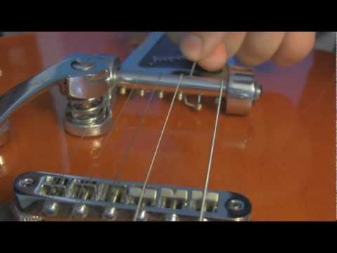How to Change Strings on a Bigsby Guitar