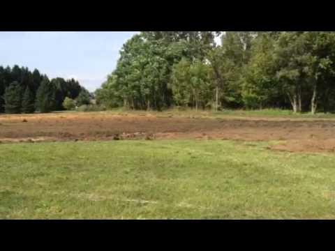Plowing hay field part 1