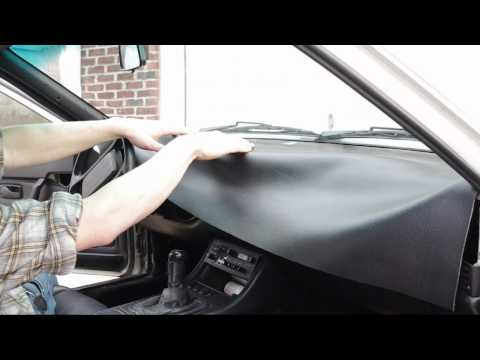 How To Recover A Dashboard - Vinyl, Leather