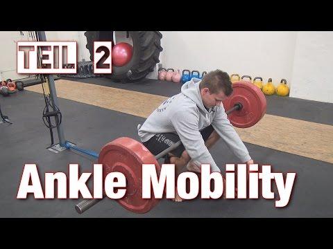 Sprunggelenk (Ankle) Mobility | Tipps & Drills für bessere Squats & Pistols 2/2