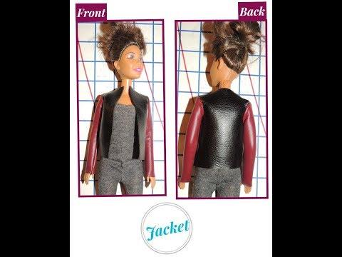 How to Make  - DIY:  Barbie Jacket {5 EASY Steps}