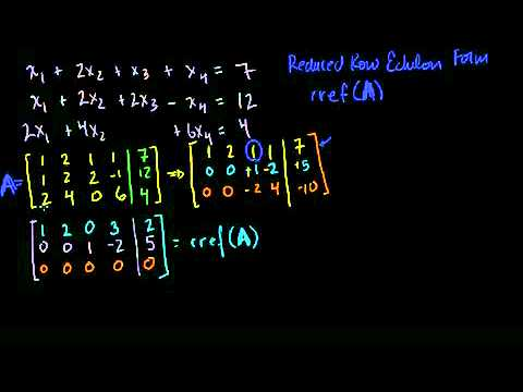 Matrices Reduced Row Echelon Form 1 -- KA Hamari Boli (Hindi-Urdu).mp4