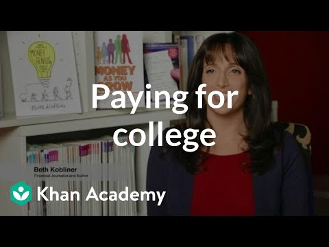 A message to parents on paying for college