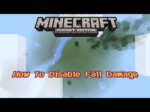 How To Disable Fall Damage - Minecraft PE