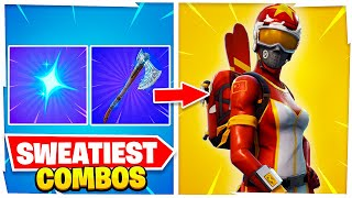 The MOST TRYHARD Fortnite Skin COMBOS of 2021